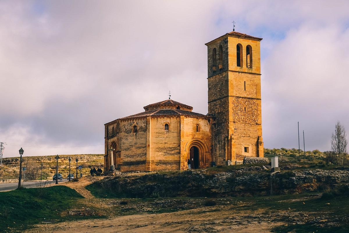 Eglise de la Vera Cruz à Ségovie