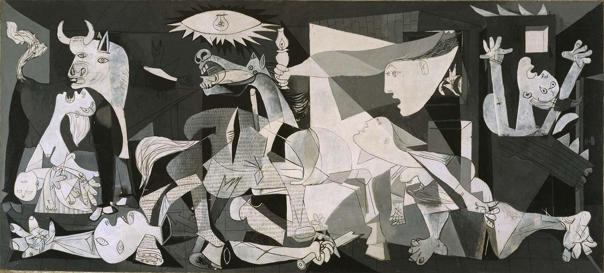 Tableau Guernica de Picasso