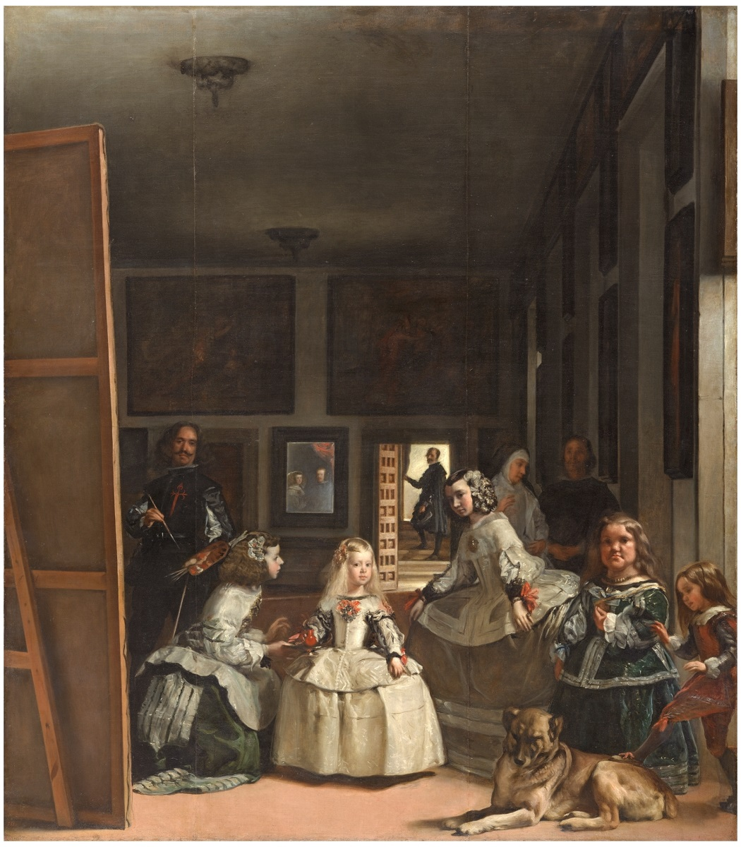 Tableau Las Meninas de Velazquez exposé au Musée du Prado de Madrid