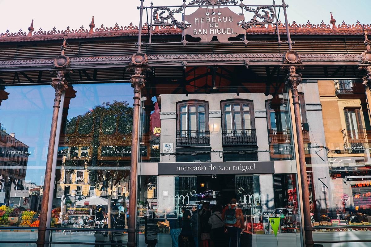 Le marché couvert de San Miguel à Madrid