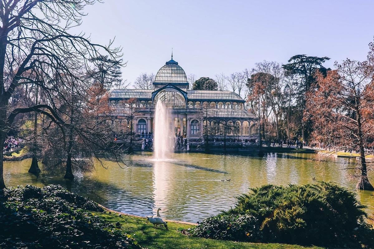 Palais de Cristal à Madrid