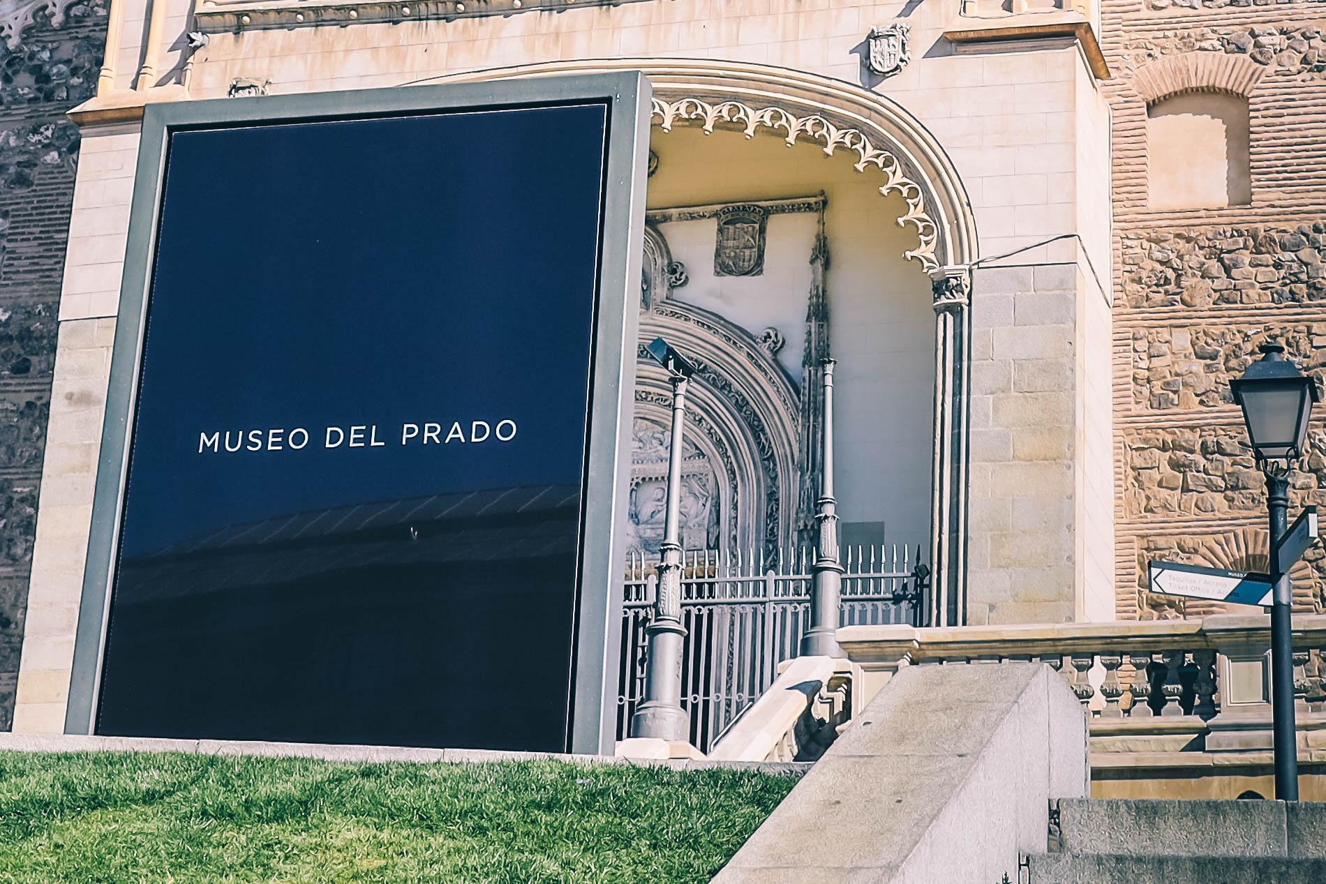 Panneau Musée du Prado de Madrid