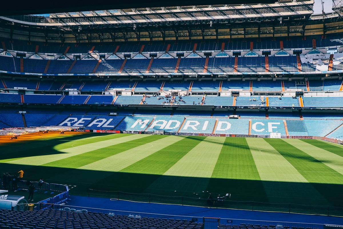 Visite du stade de foot du Bernabeu de Madrid