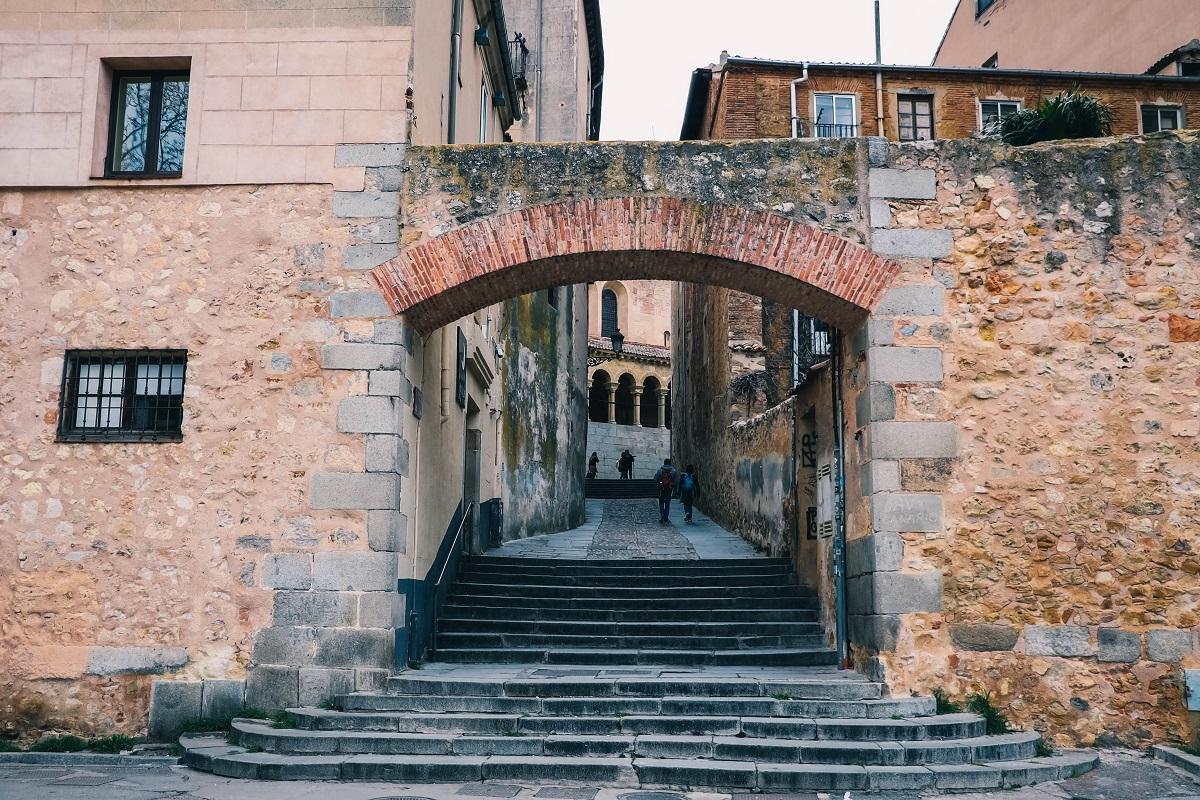 Porte d'entrée dans la vieille-ville de Ségovie
