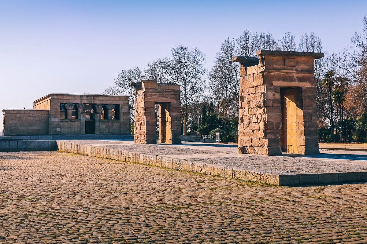 Temple de Debod à Madrid