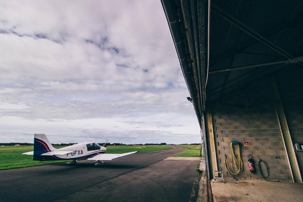 Aérodrome de Marck près de Calais