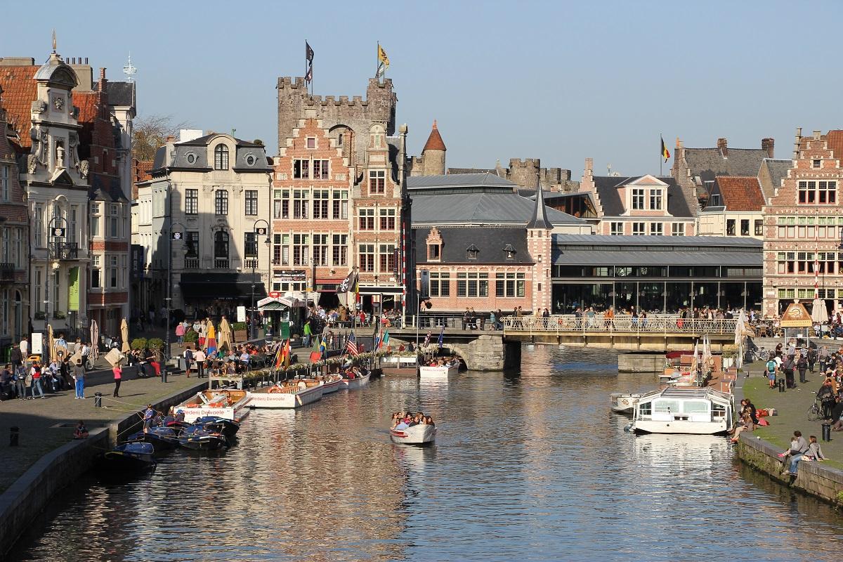 Un canal à Gand