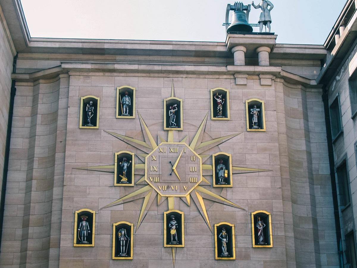 Carillon du Mont des Arts à Bruxelles