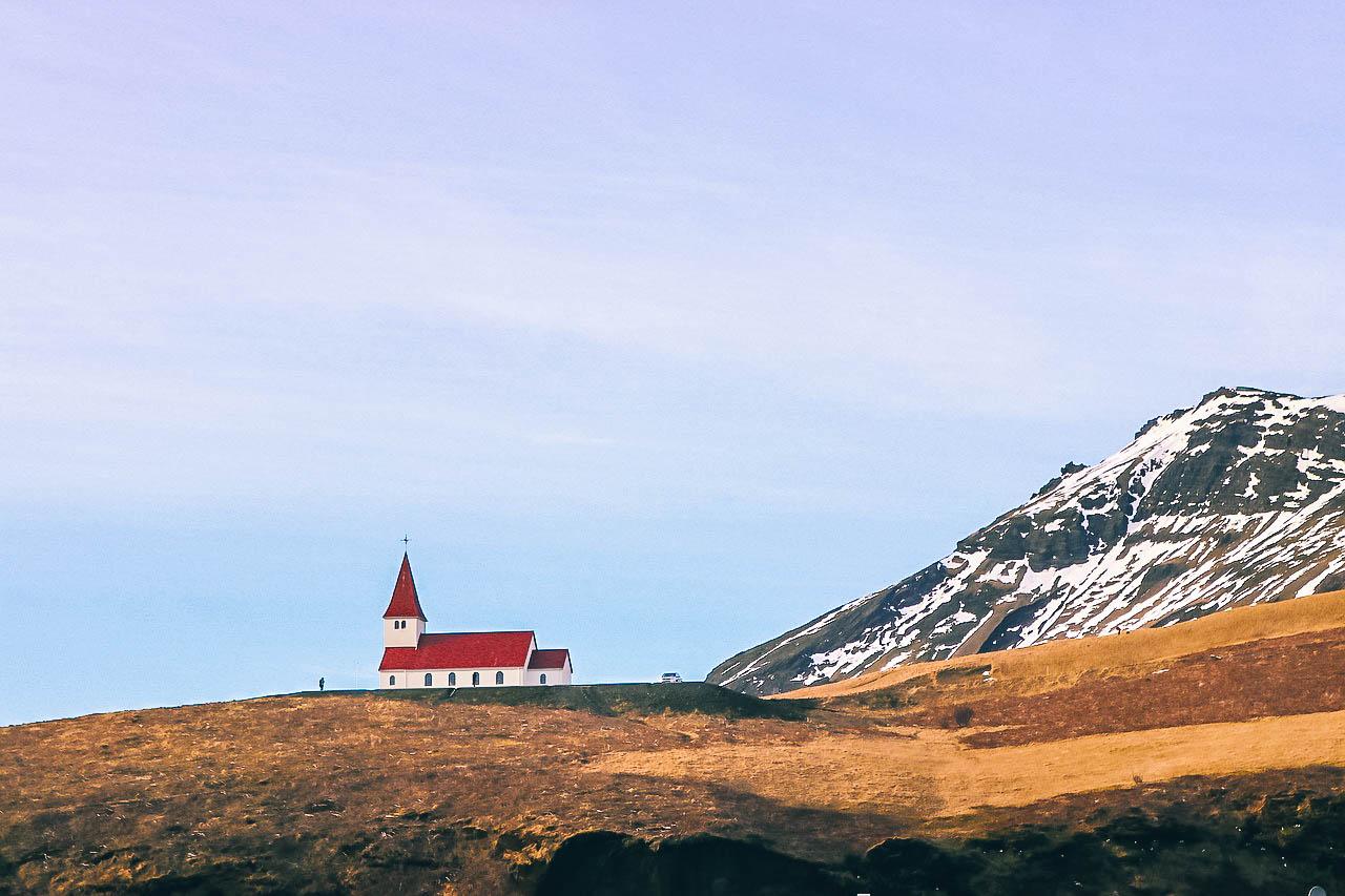 Eglise de Vik en Islande