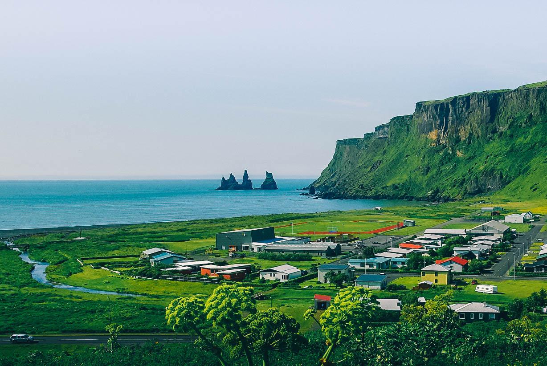 Vik i Myrdal, village à visiter dans le sud de l'Islande