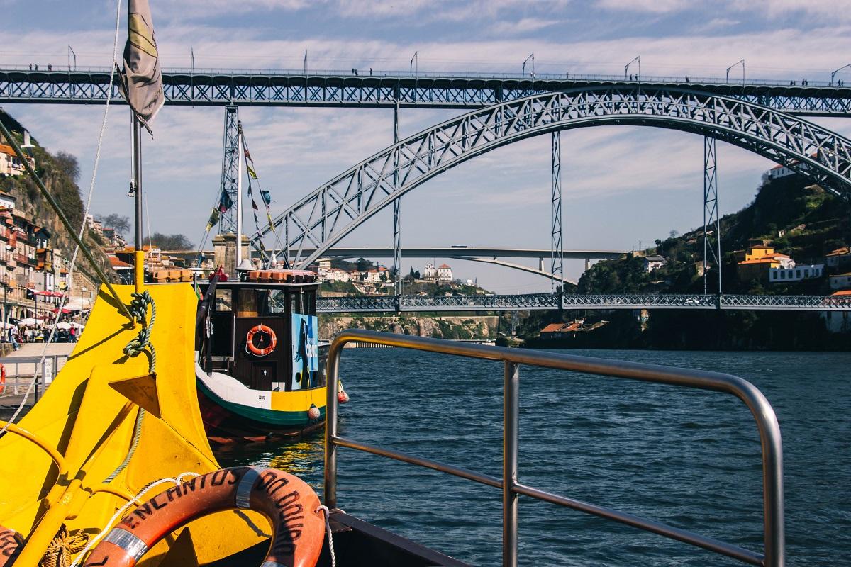 Croisière en bateau sur le Douro à Porto
