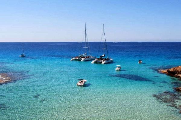 Sortie en catamaran depuis Palma de Majorque