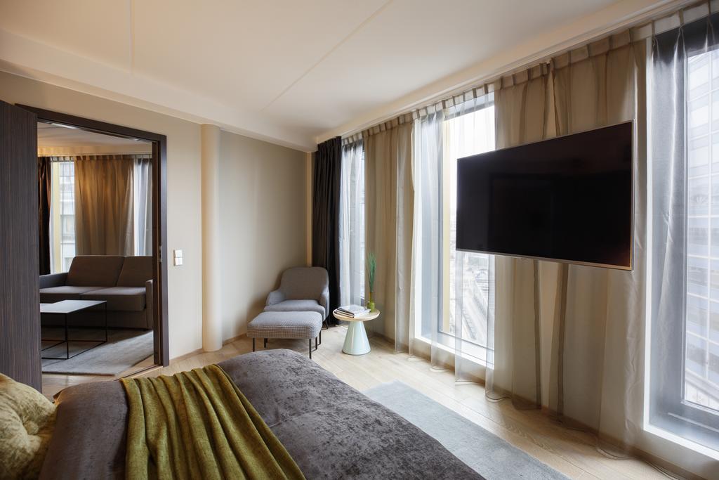 Dans une chambre du Clarion Hotel The Hub à Oslo