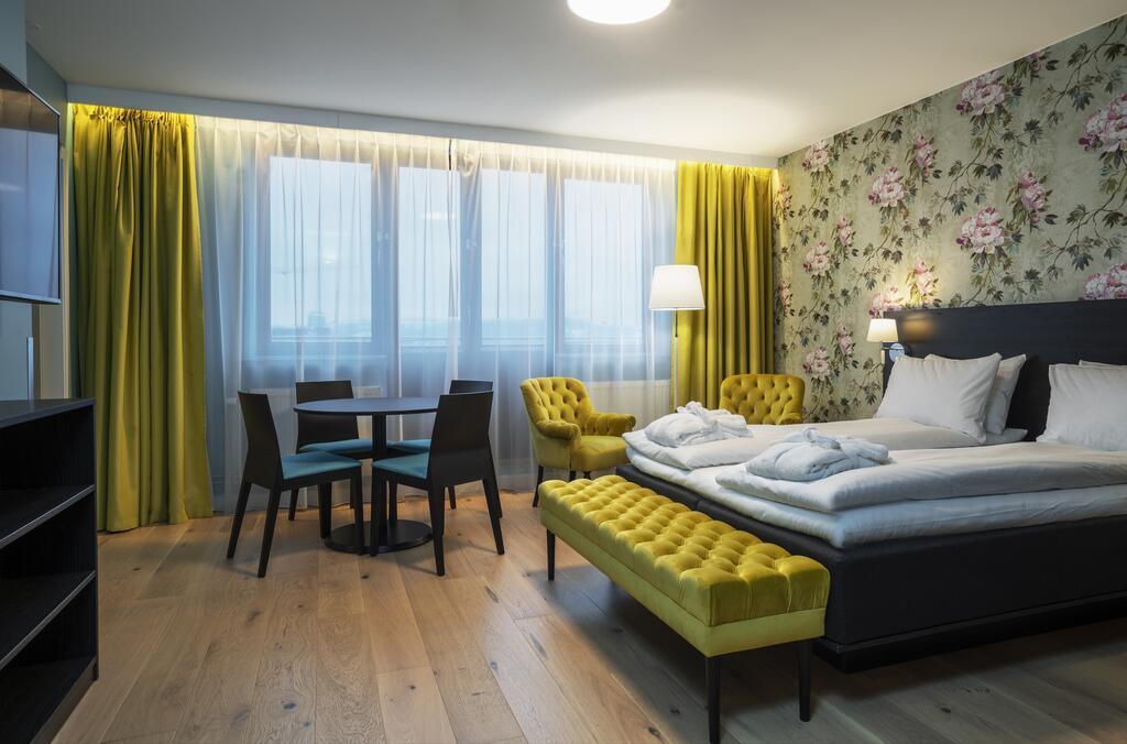Chambre dans le Thon hotel Slottsparken à Oslo