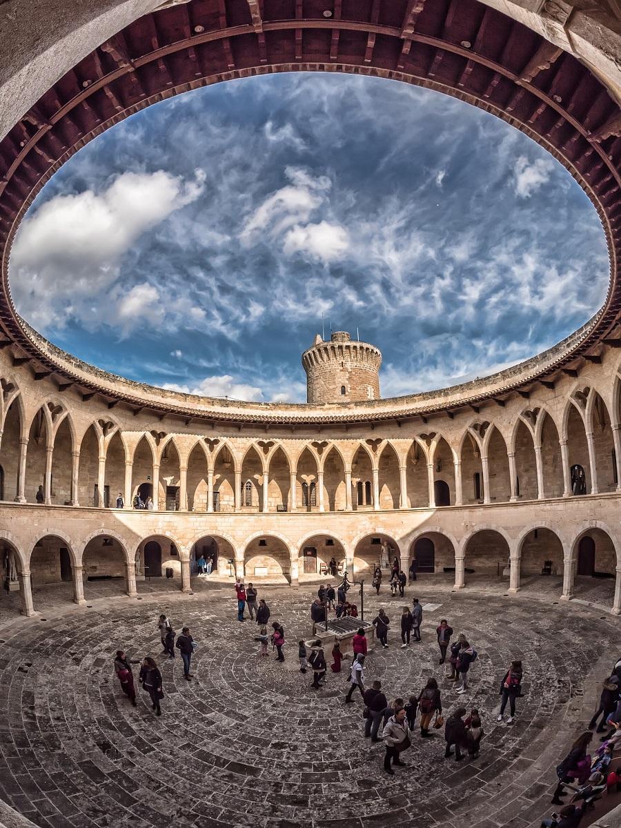 Le château de Bellver à Palma de Majorque