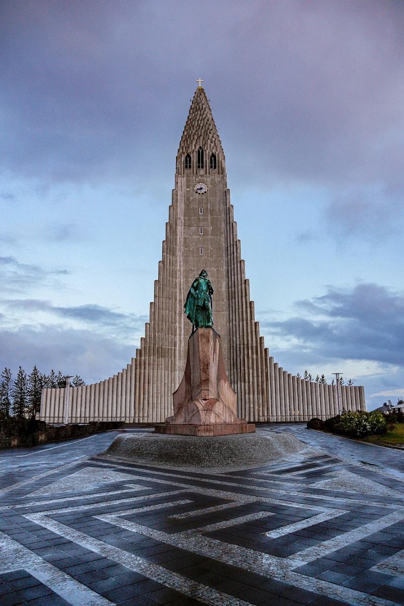 Eglise Hallgrímskirkja de Reykjavik