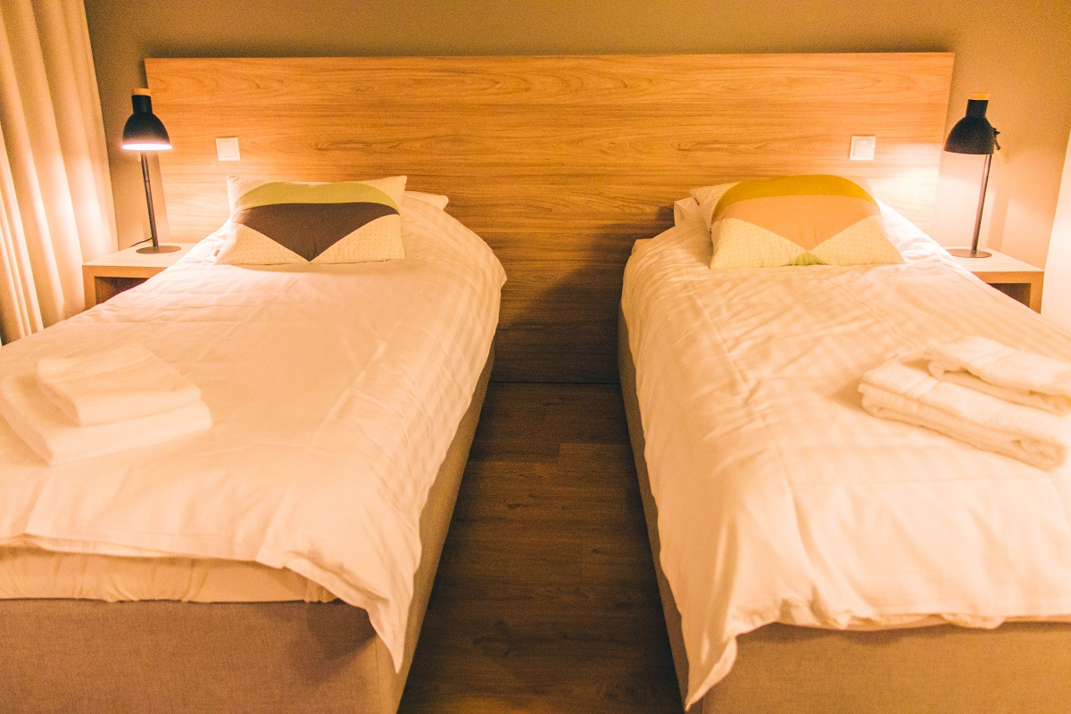 Chambre dans l'hôtel Gullfoss
