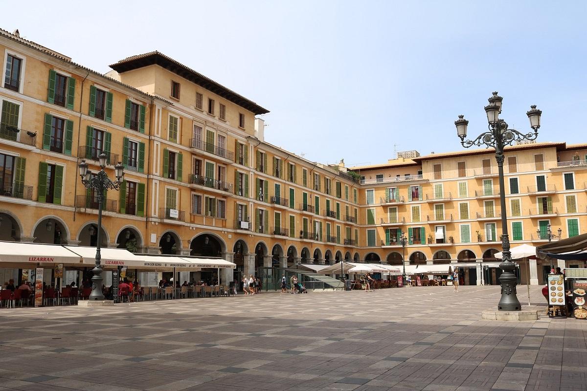Place Mayor de Palma de Majorque