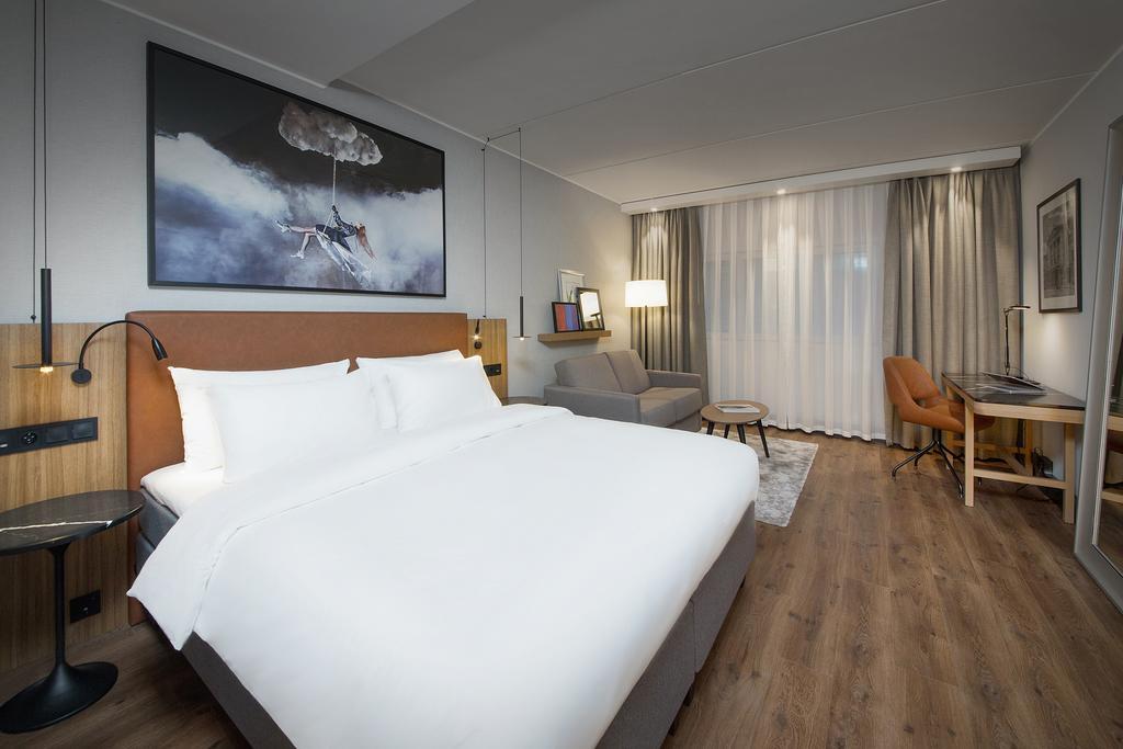 Une chambre du Radisson Blu Airport Hotel à Oslo