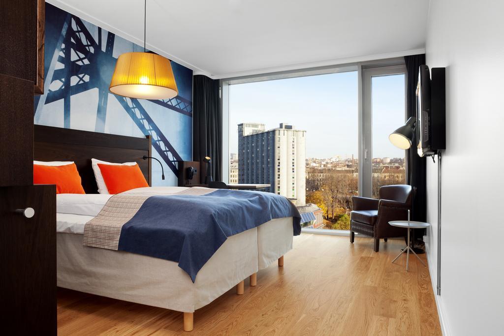 Une chambre d'hôtel du Scandic Vulkan à Oslo