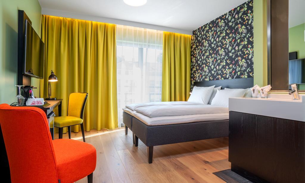 Dans une chambre du Thon Hotel Gyldenlove à Oslo