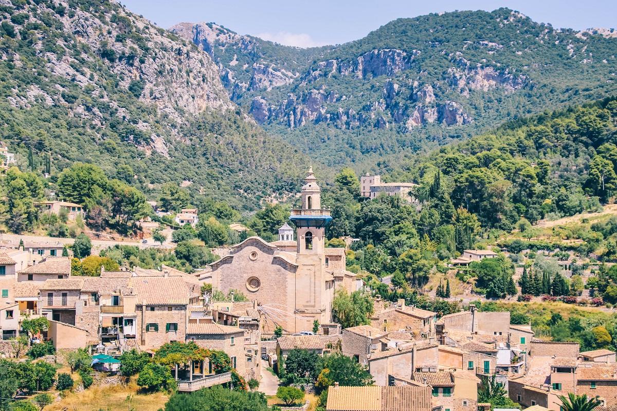 Le village de Valldemossa à Majorque