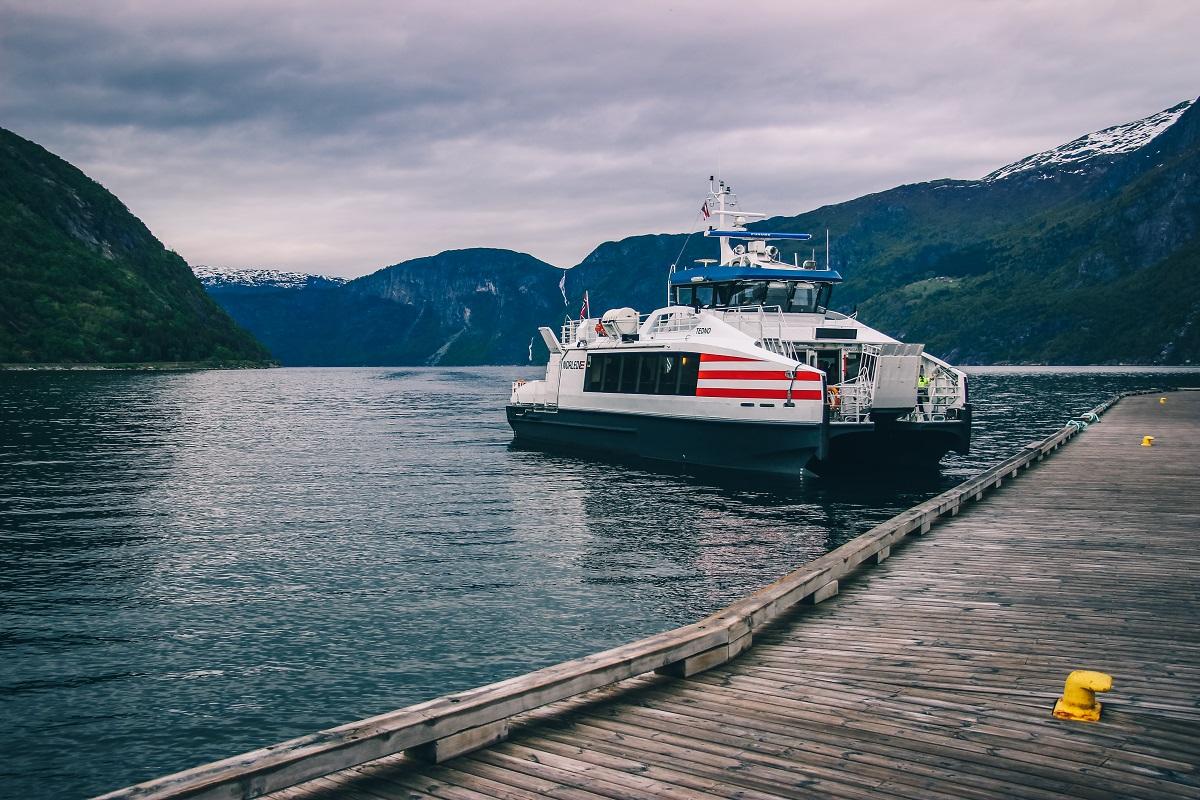 Croisière dans le fjord Hardanger à Eidfjord