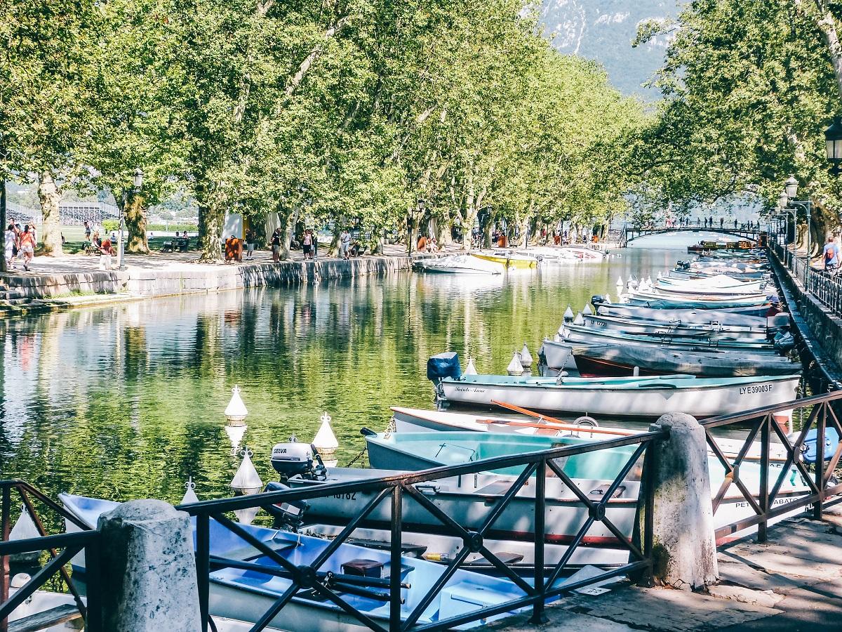 Canal du Vassé à Annecy