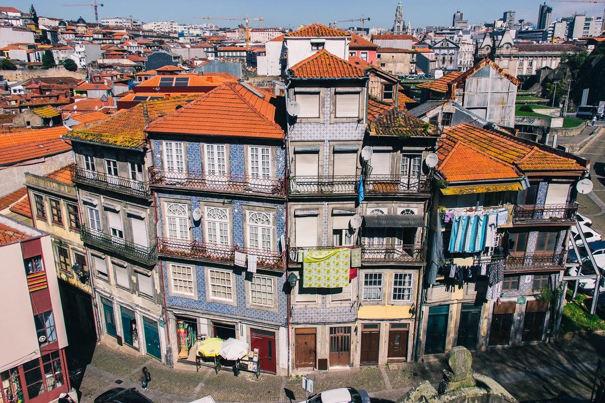 Le centre-ville de Porto, idéal pour dormir à Porto