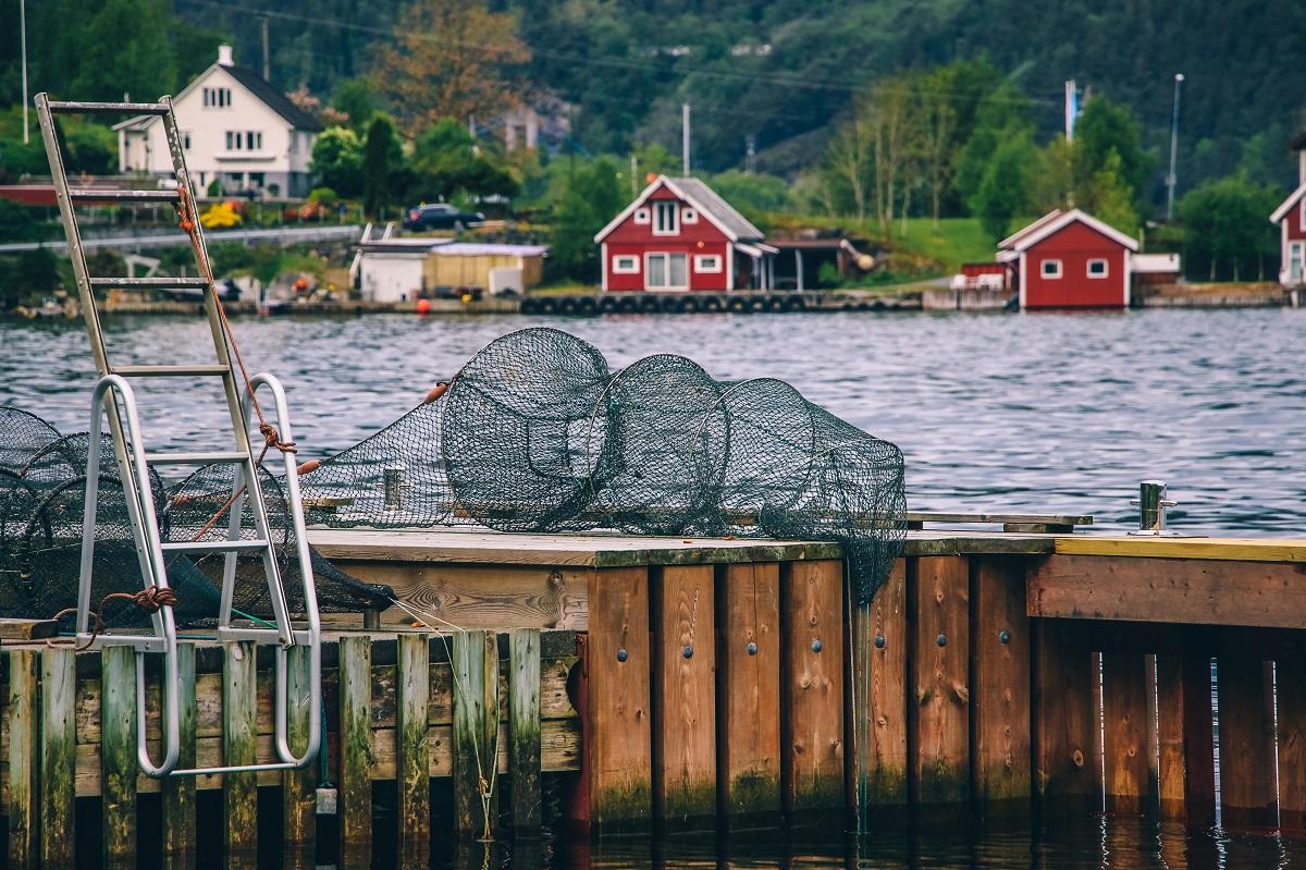 Village de pêcheurs en Norvège