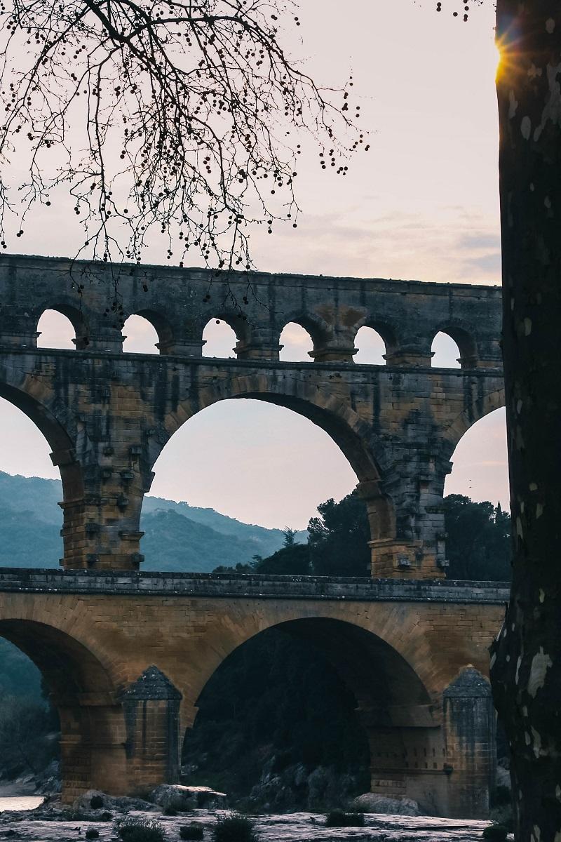 Le Pont du Gard et ses 3 niveaux
