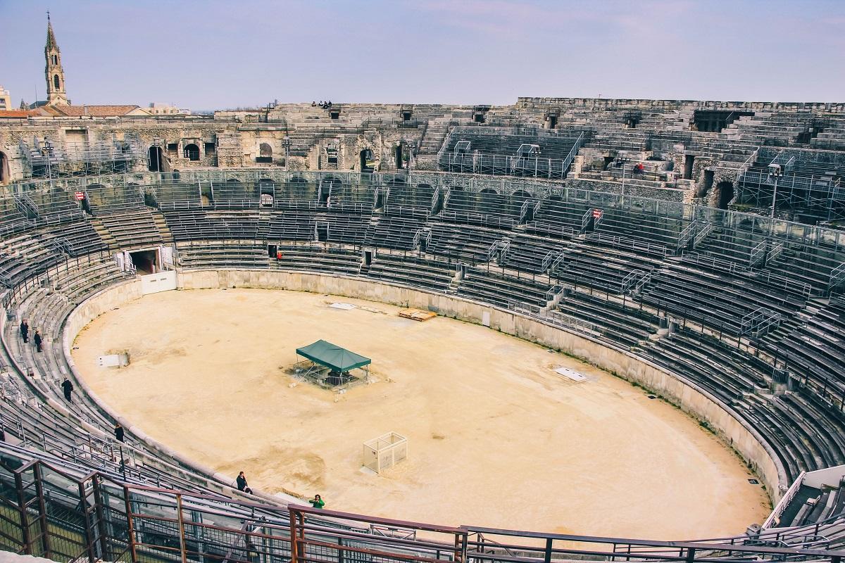 Visite de Nîmes et son amphithéâtre romain