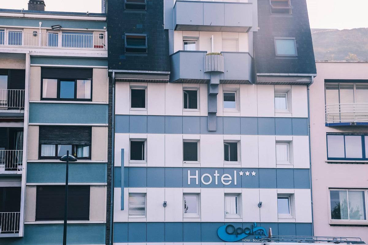 Un hôtel en bord de mer à Boulogne sur Mer