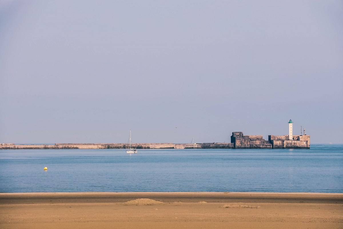 Jetée et phare de Boulogne sur Mer