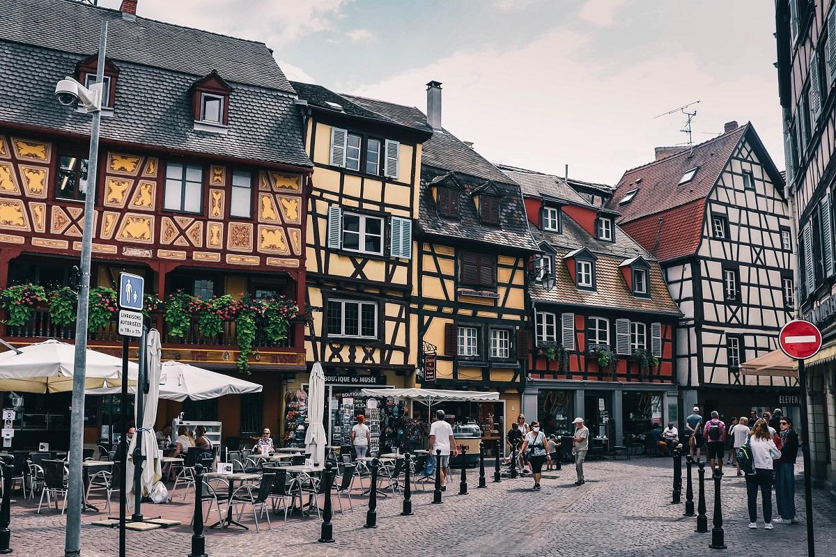Maisons à colombage dans Colmar