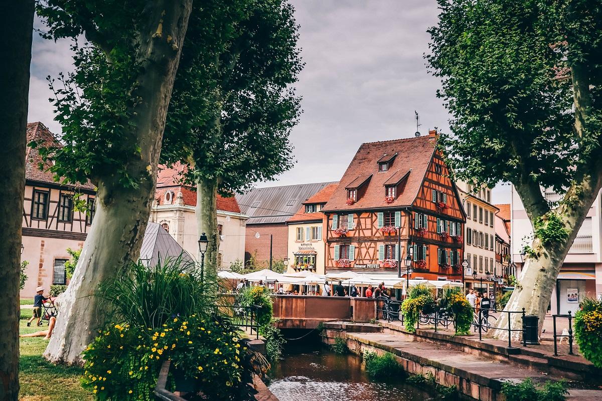 Une place dans Colmar