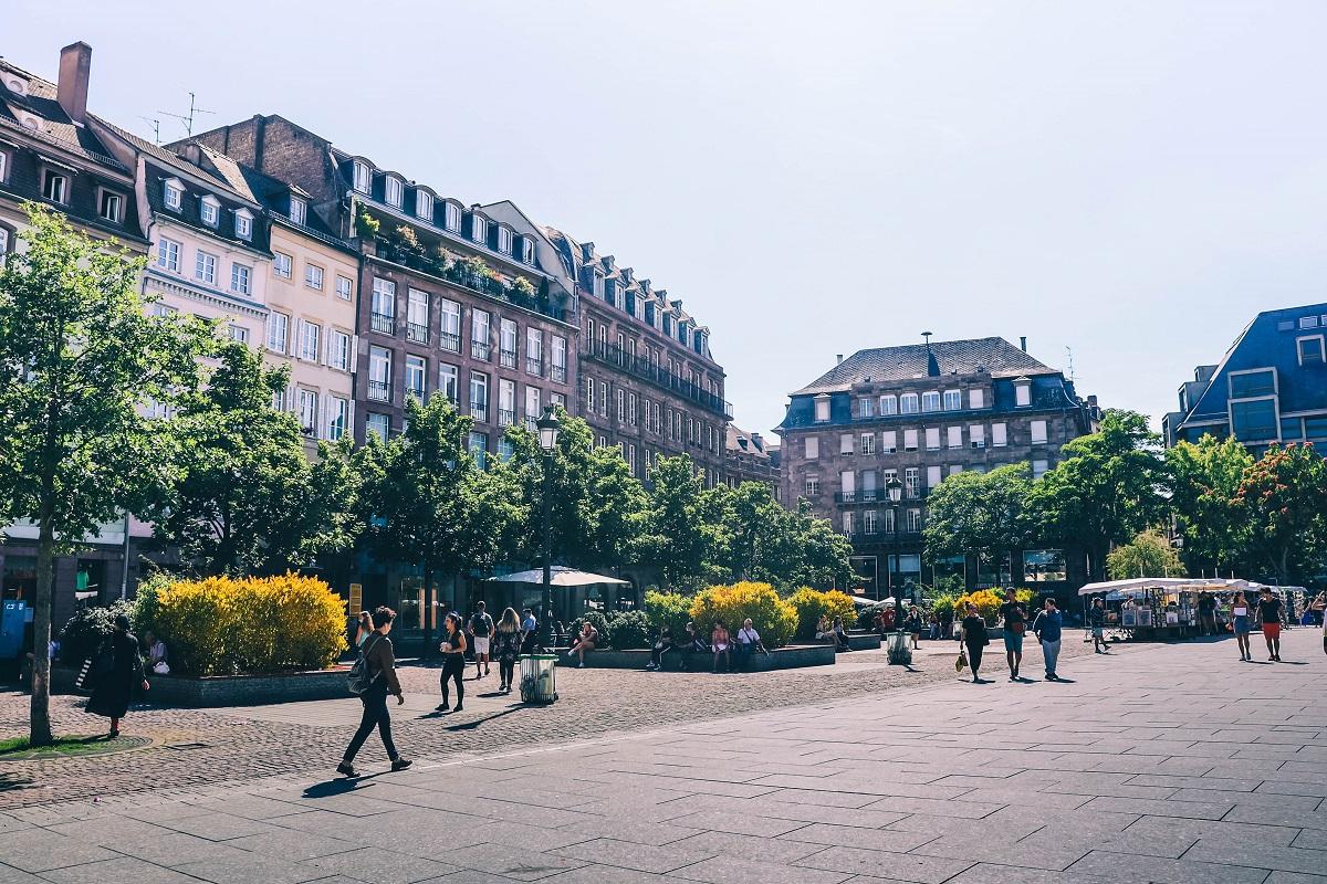 Place Kléber de Strasbourg