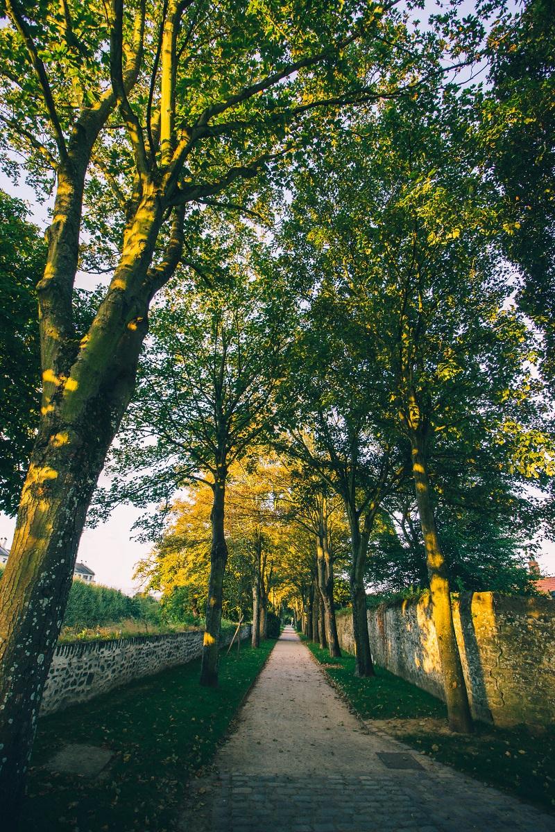 Promenade des remparts de Boulogne sur Mer