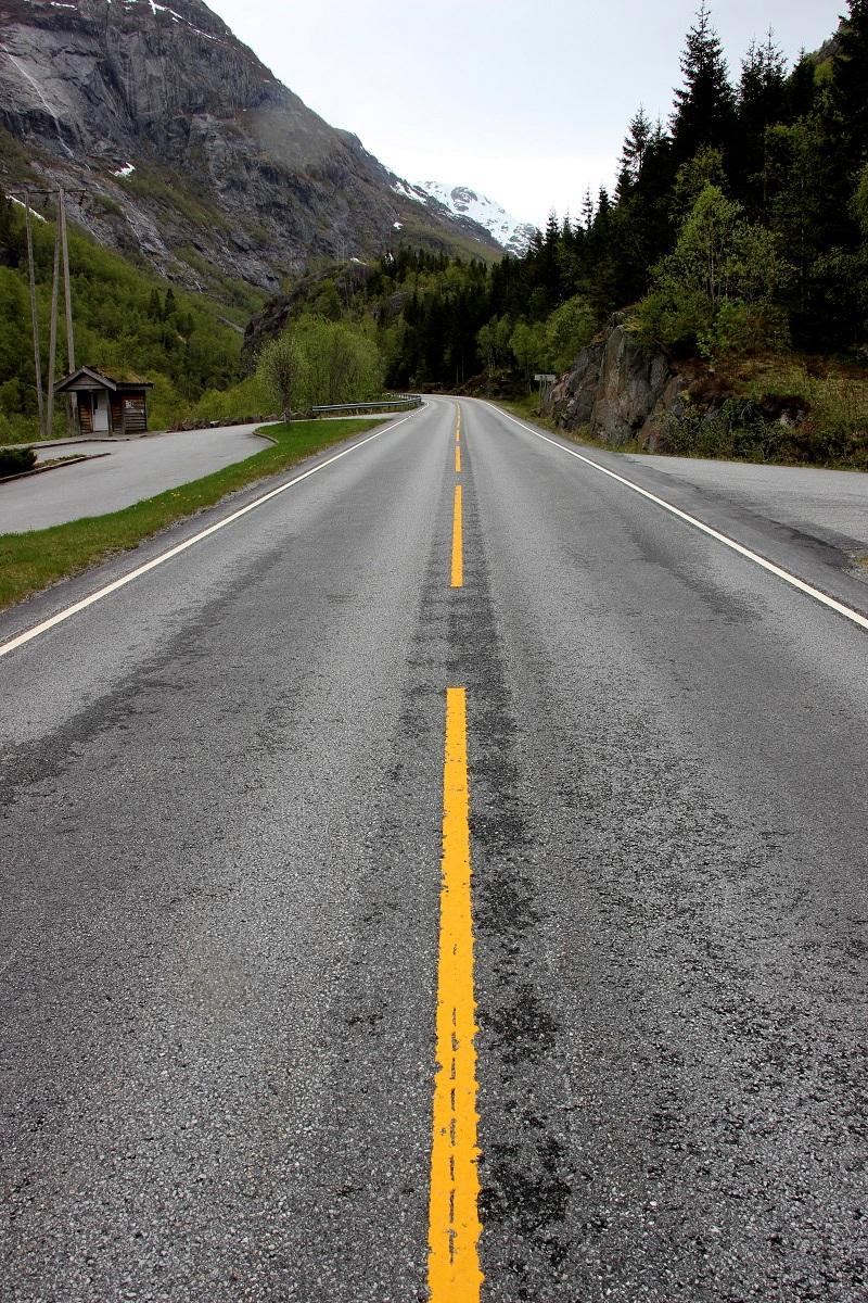 Route en Norvège