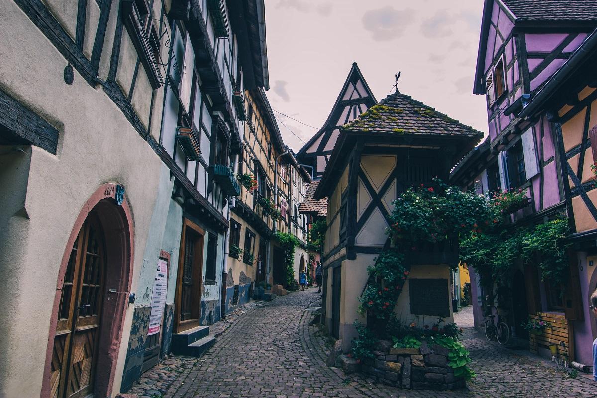 Ruelle dans Eguisheim