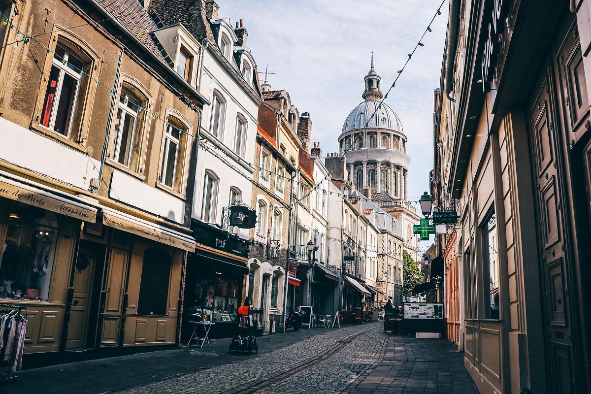Vieille-ville de Boulogne sur Mer