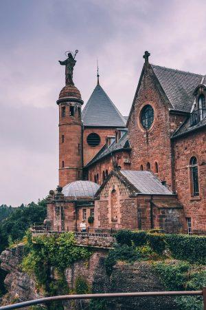 Abbaye du Mont Sainte-Odile en Alsace