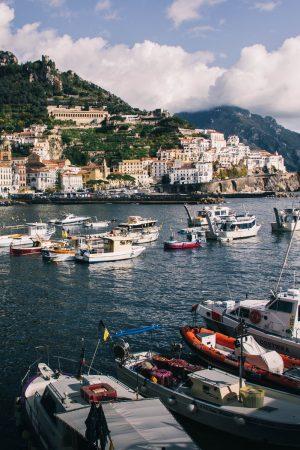 Bateaux à Amalfi