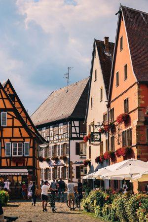 Bâtisses dans Eguisheim