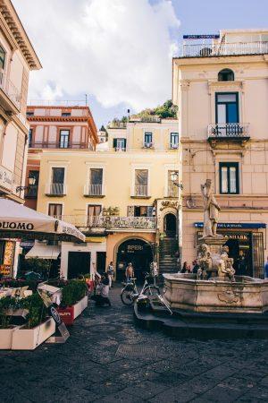 Centre-ville d'Amalfi