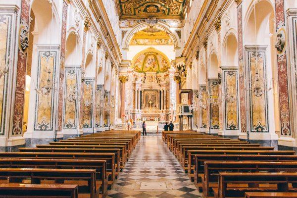Intérieur de la cathédrale d'Amalfi