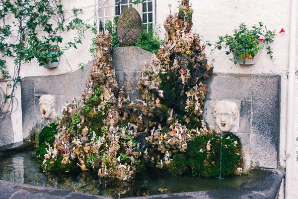 Petite fontaine dans Amalfi