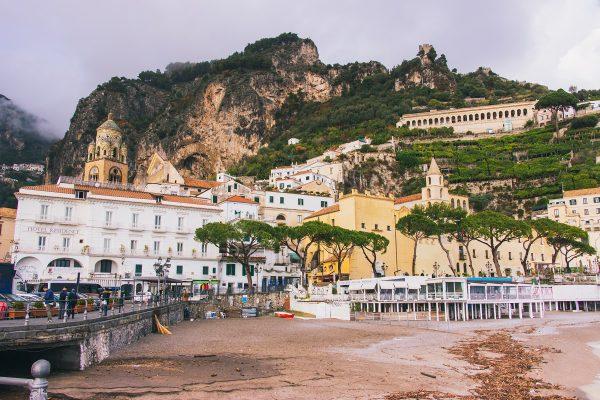 Plage d'Amalfi
