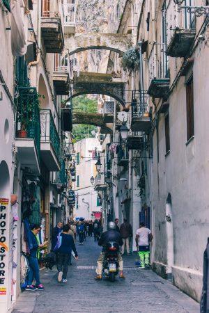 Rue principale d'Amalfi