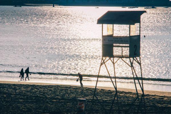 Coucher de soleil à Saint-Jean de Luz